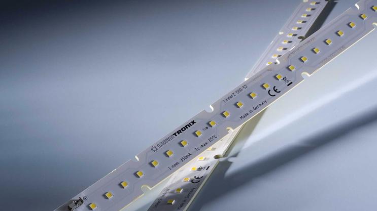 Benzi LED Nichia 757 Optisolis: LinearZ cu CRI98+ si flux luminos de pana la 2600 lm/m