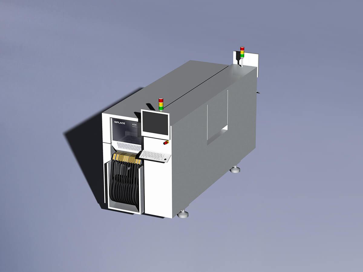 Automatic mounting machine Nichia module production line