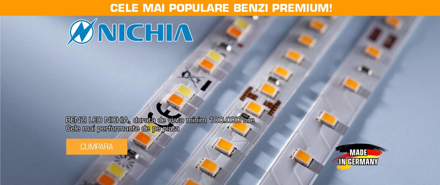 Benzi Flexibile Profesionale Lumiflex LED Nichia, 100.000 ore durata de viata, flux luminos de pana la 2600 lm/m