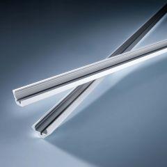 Profil de aluminiu Aluflex pentru Benzi LED Flexible Lumiflex de colt, plat Tip 2 1020mm