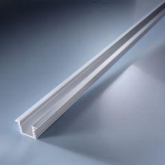 Profil de aluminiu Aluflex pentru Benzi LED Flexible Lumiflex 102cm dreptunghiular si adanc