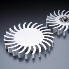Radiator circular 85mm pentru LED <1800lm