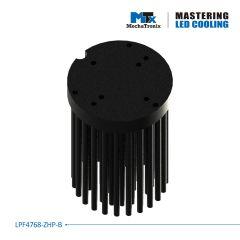 Radiator circular 5cm MechaTronix LPF4768-ZHP-B  pentru LED <2500lm
