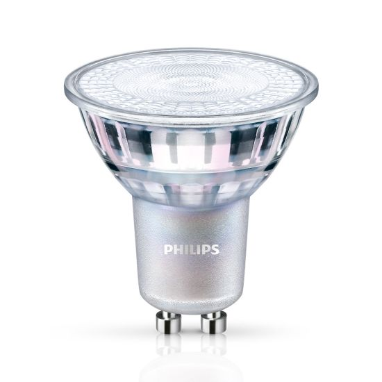 Bec LED Spot Philips MASTER LEDspot Value 49-50W GU10 927 60° DIM 2700K 355lm