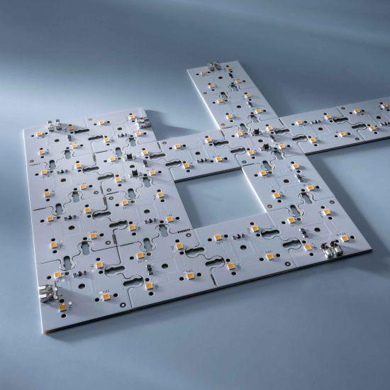 Modul Edge ConextMatrix 4 LED-uri lumina calda 118lm 4x4 cm 24V CRI 90 118lm 0.89W