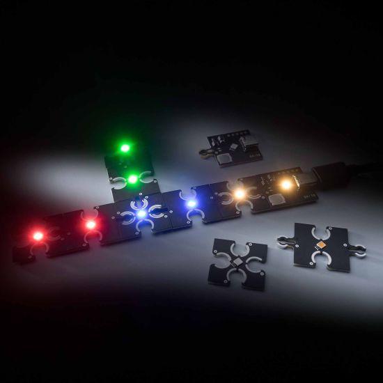 Modul ConextPlay de tip feminin lumina roșie 1 LED 2.5x2.5cm 5V 2.5lm 0.1W
