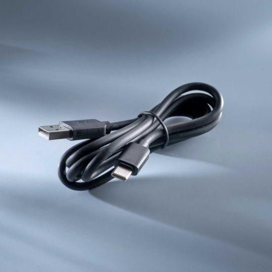 Cablu USB-C la USB-A negru 1m pt Conext