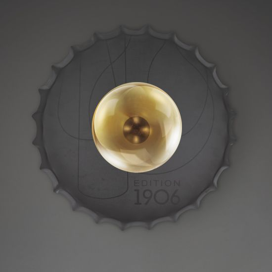 Lampa Capac de sticlă pentru perete și plafon Osram VINTAGE 1906 PenduLum