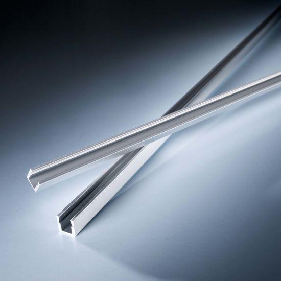Profil de aluminiu AluSlim pentru Benzi LED Flexible SlimFlex 102cm adanc fara aripioare