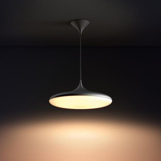 Lampa LED de tavan Lustra PHILIPS Hue Wifi Cher Negru 2200-6500K 39W 3000lm