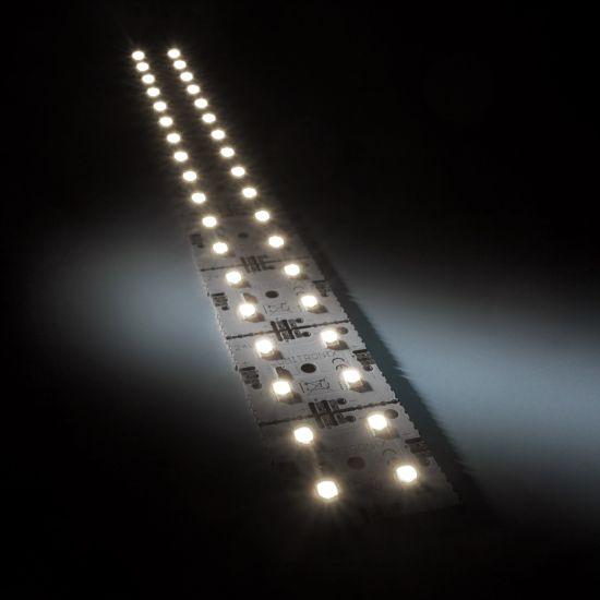 Matrice Profesionala LED Matrix mini 24V 9 patrate(9x1) 36 LED-uri Nichia Japonia (680lm) 4000K alb