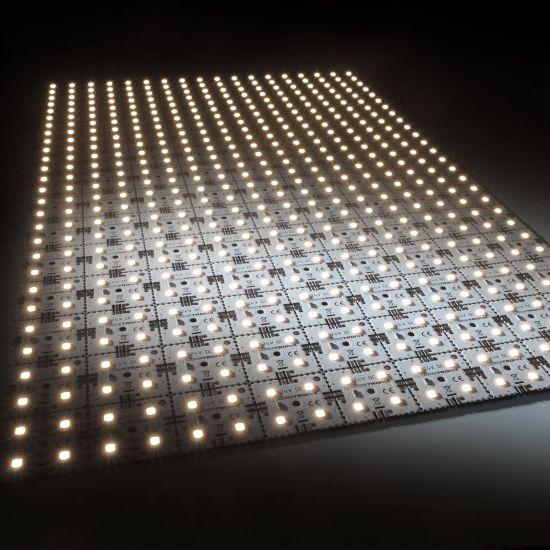 Matrice Profesionala LED Matrix mini 24V 126 patrate (9x14) 504 LED-uri Nichia Japonia (10040lm) 5000K alb