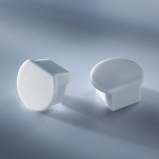 Capac pentru profilul de aluminiu Aluflex de 102cm rotund si adanc inchis