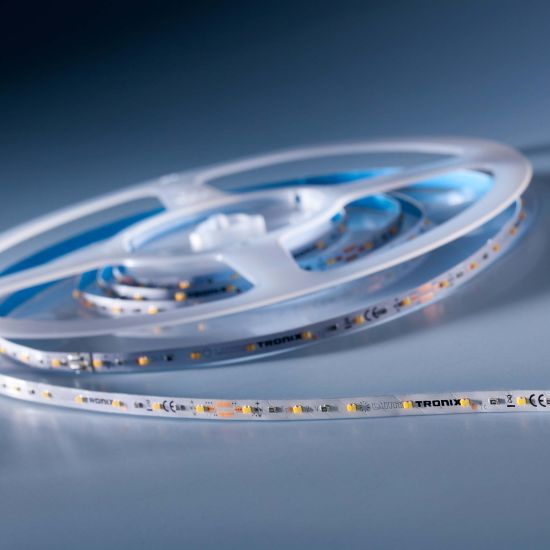Banda Flexibila Profesionala Slimflex280 Performer 280 LED-uri Nichia Japonia TW alb 2700-6500K 24V rola 2m (985+1070lm/m, 140 LED/m)