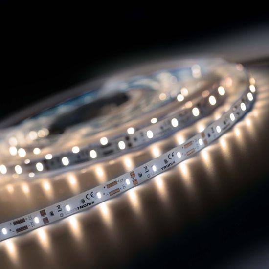 Banda Flexibila Semi-Profesionala LumiFlex300 Economy 300 LED-uri Honglitronic alb cald 2700K 12V rola 5m (284lm/m, 60 LED/m si 2.4W/m)