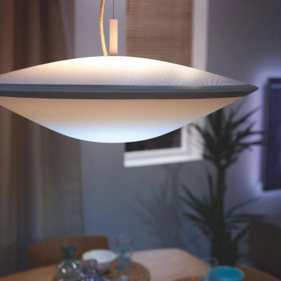 Lustra LED de tavan PHILIPS Hue Wifi Phoenix Alb Ajustabil 2700-6000K 17.4W 1810lm
