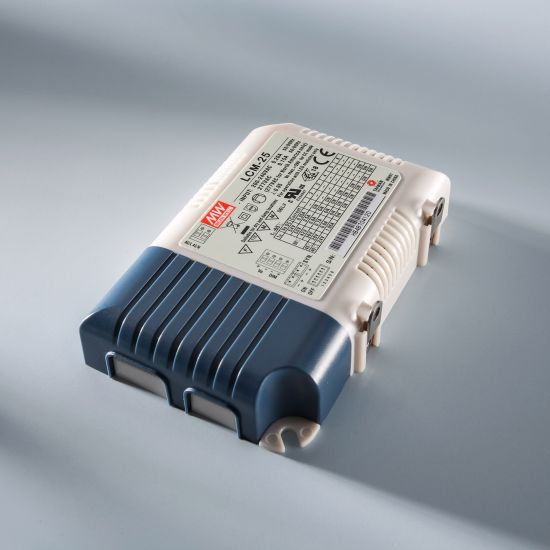 Transformator Driver Profesional de curent constant Mean Well LCM-25 IP20 350 > 1050 mA 230V la 6 > 54VDC DIM
