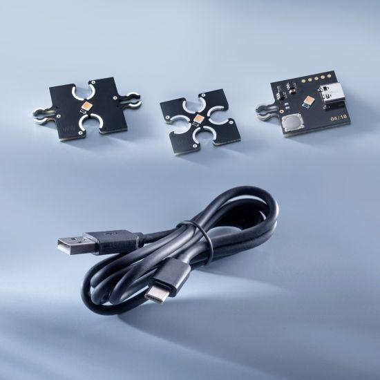 ConextPlay Starter-Set 31 de module Alb Cald 2700K 10lm fiecare 310lm total incl. USB-C