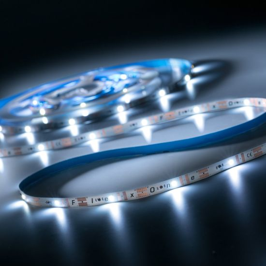 Banda Flexibila Profesionala FlexOne100 Performer 100 LED-uri Samsung alb neutru 4000K 12V rola 5m (1328lm/m, 20 LED/m si 16.8W/m)