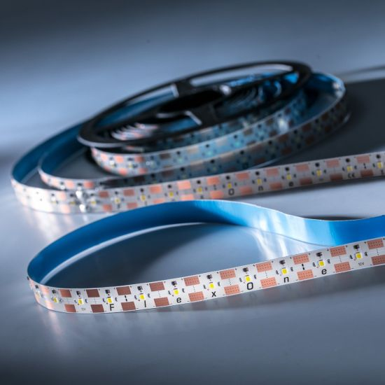 Banda Flexibila Profesionala FlexOne250 Performer 250 LED-uri Samsung alb neutru 4000K 12V rola 5m (2575lm/m, 50 LED/m si 30W/m)