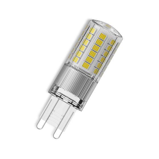 Bec LED Osram LED STAR PIN 48 clar non-dim 4.8W 840 G9 600lm 4000K CRI80