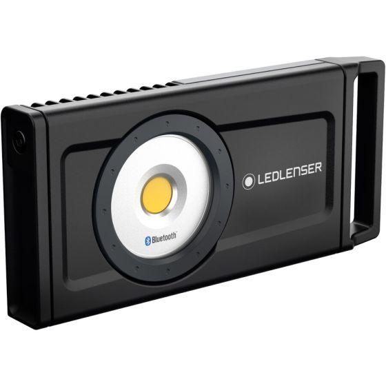 Lanterna Lampa Portabila LEDLENSER IF8R Control de pe telefon via Bluetooth reincarcabila 4500lm