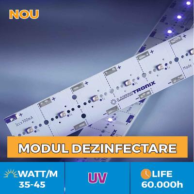 Soluții profesionale cu LED-uri Nichia UV pentru dezinfectarea continuă de bacterii și virusuri (inclusiv COVID-19)