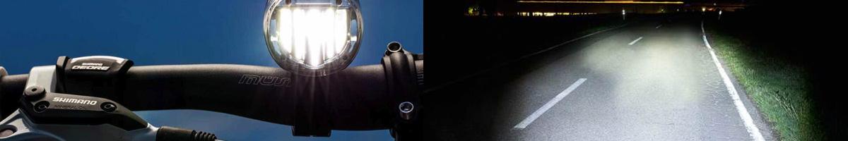 Lanterne de bicicleta, import Germania