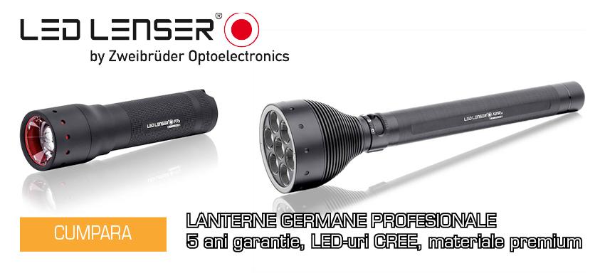 Lanterne Profesionale LED Lenser