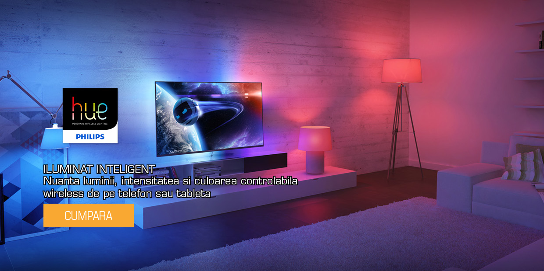 Iluminat casa inteligenta Philips HUE