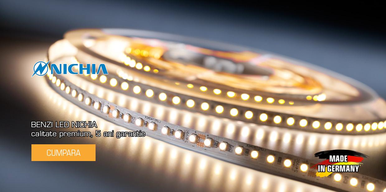 Benzi si Baghete cu LEDuri Nichia